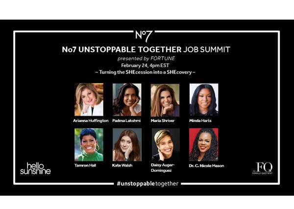 unstoppable summit speakers, presented by Fortune. February 24, 4pm EST