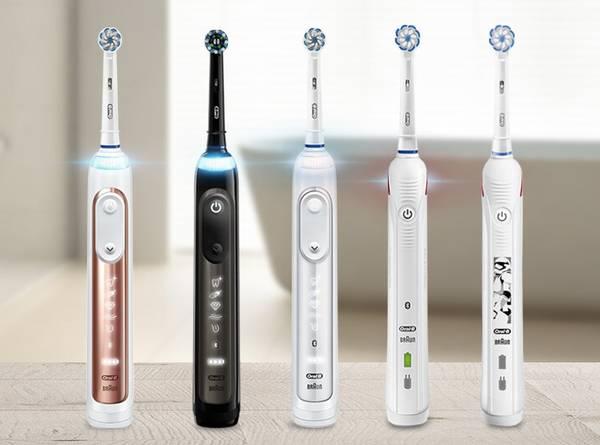 Oral B elektrische Zahnbürste