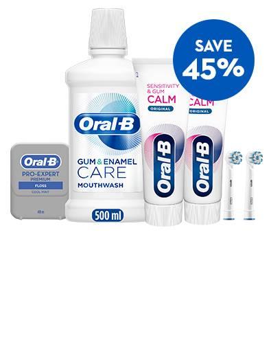 Save 45% off Sensitivity & Gum Calm Bundle