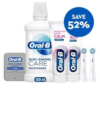 Save 52% iO Gentle Care Sensitivity & Gum Calm Bundle