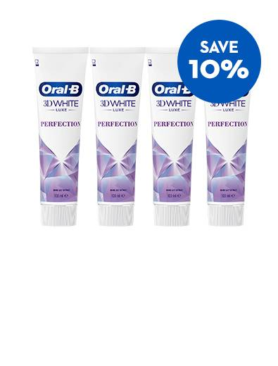 Save 10% off Oral-B 3D White Luxe Perfection Toothpaste