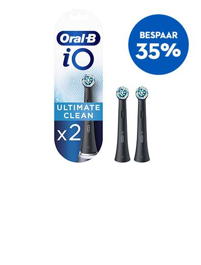 Bespaar 35% iO Ultimate Clean Opzetborstels