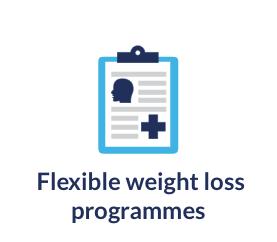 Optifast flexible weight loss programmes