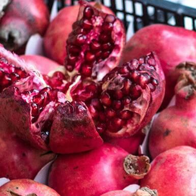 Über Granatapfel