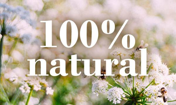 Burt's Bees is striving to use 100% natural ingredients