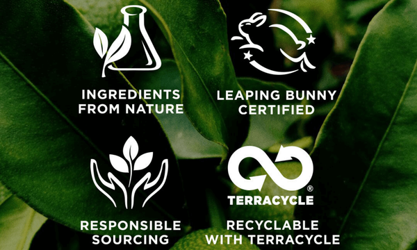 Burt's Bees respects nature by using natural ingredients, responsibly sourcing, being cruelty free & offering recycling services