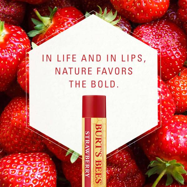 Burt's Bees Strawberry Lip Balm