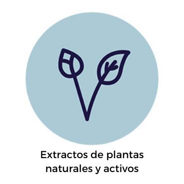 Extractos de plantas naturales y activos