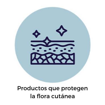 Productos que protegen la flora cutánea