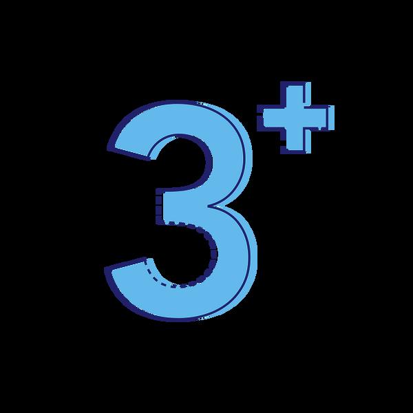Three Plus