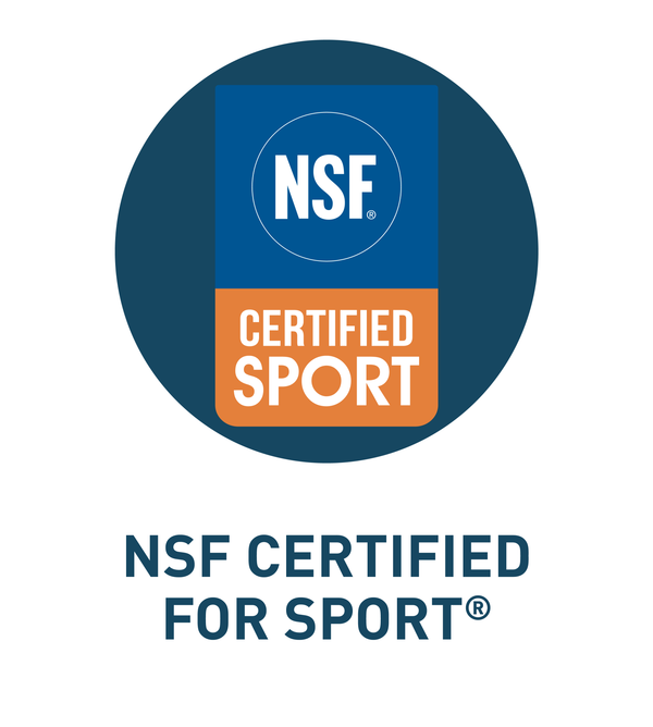 NSF CERTIFIED FOR SPORT