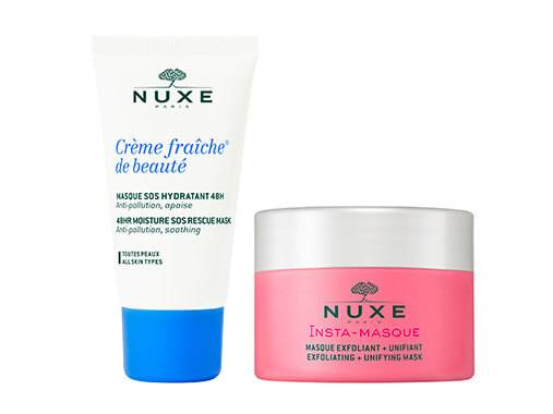 For a fresh and radiant complexion, apply NUXE face masks regularly.