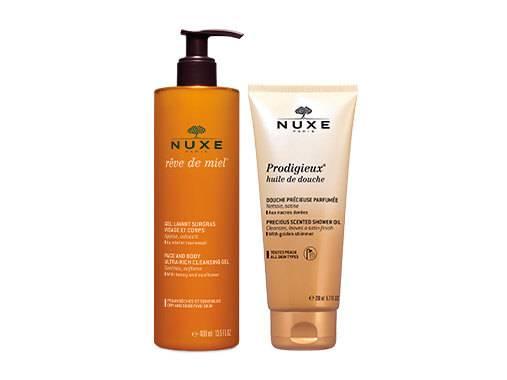 Les soins Bains & Douche NUXE laisse la peau infiniment douce, avec un parfum délicat.