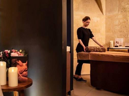 75 - PARIS Spa NUXE - Hôtel de Nell*****  7-9, rue du Conservatoire - 75009 <br> Paris spanuxe-nell@nuxe.com <br> Tél.: 01 44 83 83 66