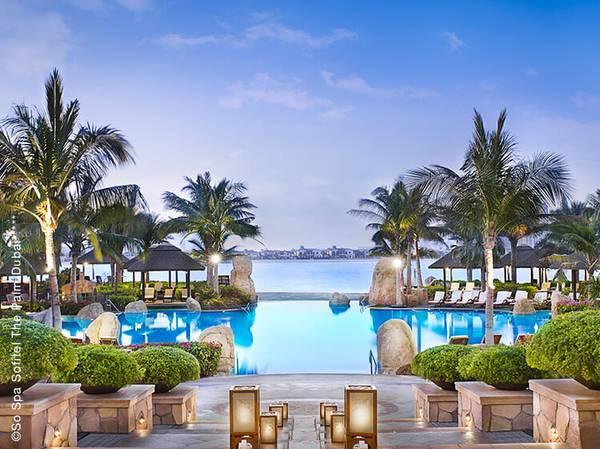 The Palm Jumeirah, East Crescent road - 55 558 Dubaï<br> so-spa.palmdubai@sofitel.com