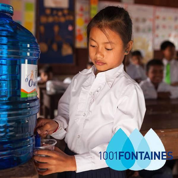 Favoriser l'accès à l'eau potable pour tous avec l'ONG 1001FONTAINES