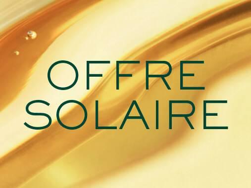 3€ sur vos protecteurs solaires NUXE SUN**