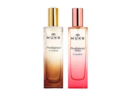 Voyage olfactif avec les fragrances NUXE aux notes sensuelles, féminines et solaires.