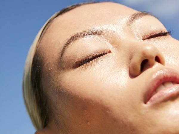 NORMAL Skin showing no major sign