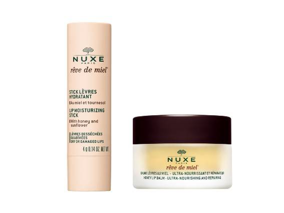 Lip balms. NUXE lip moisturizers are specially made for the lips contour. Our lip moisturizers protect, nourish, repair and soothe dry and damaged lips.