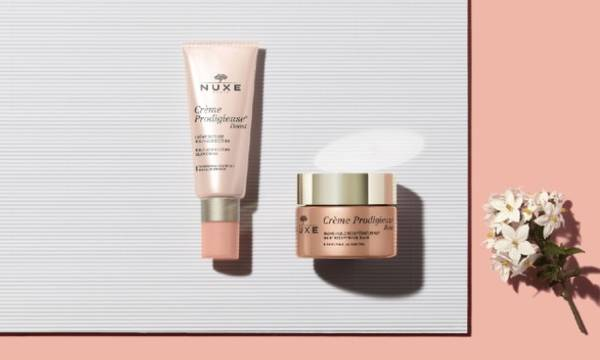 Crème Prodigieuse Boost. This range of multi-correction anti-aging skincare containing jasmine flower acts on the first signs of aging for younger-looking skin.