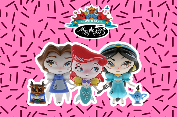 View our world of miss mindy range