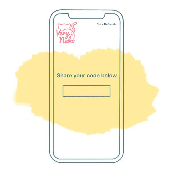 Referral Step 1 - Get Your Code