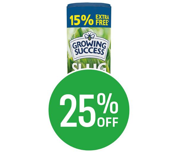 25% off Growing Success Slug Killer Advanced 500g