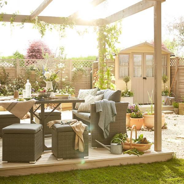 The best weatherproof garden furniture