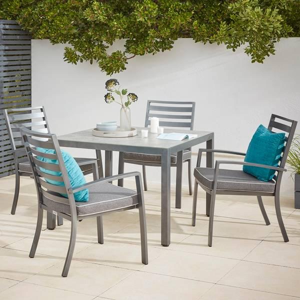 Magna 4 Seater Garden Dining Set