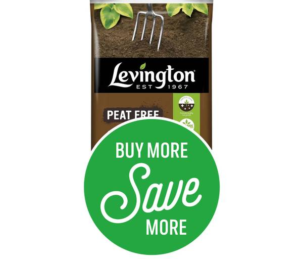 Buy More Save More - 4 for £10 or 9 for £20 on Levington Organic Blend Top Soil 20L