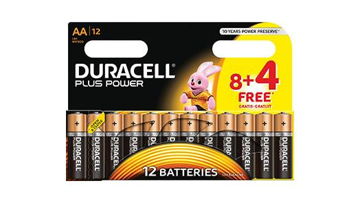 Non-rechargeable AA Batteries