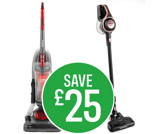 Save up to £25 on selected Beldray Vacuums