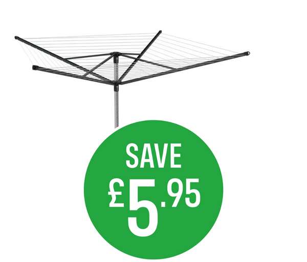Save £7 on Dry Natural 4 Arm Rotary Dryer