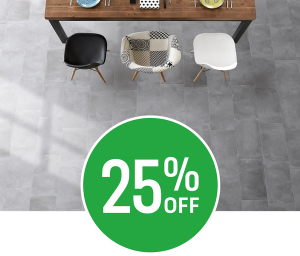 25% off Metropolitan Grey Multi Use Tile - 30x60cm - 6 pack