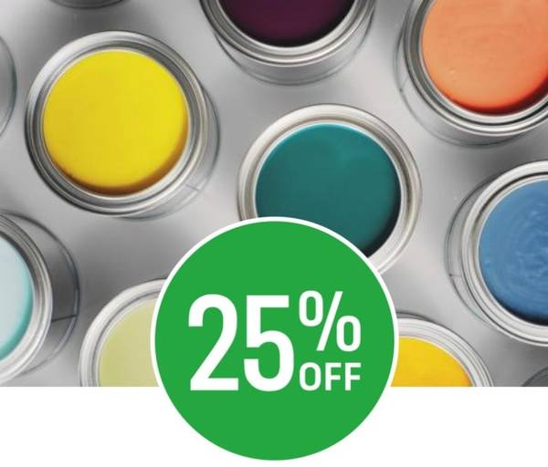 25% off Dulux Paint Mixing (excludes clearance. Offer available in a store near you)