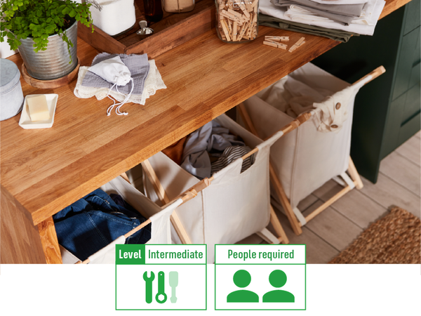 How to make your own laundry station