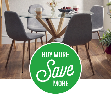 Save on Ludlow dining table and chairs when bought together