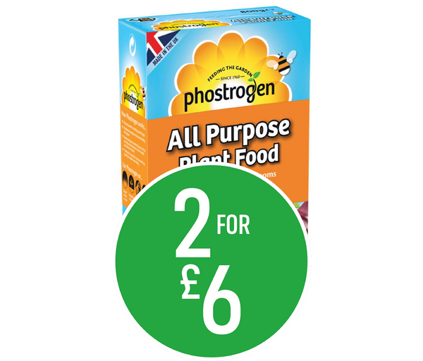 2 for £6 - Phostrogen Soluble Plant Food 800g
