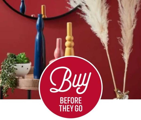 Clearance - 50% off selected Home Furnishings