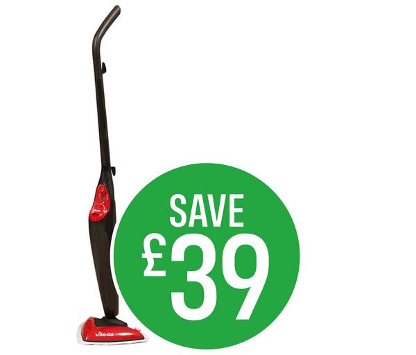 Save £39 Vileda Steam Mop