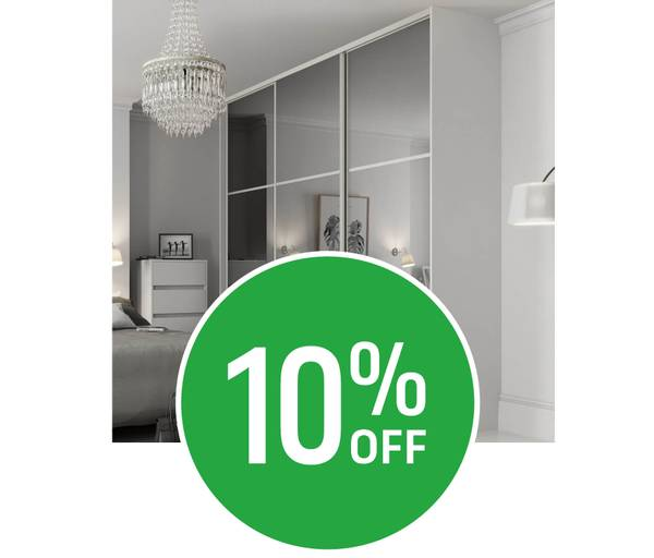Get 10% off on our Sliding Doors Range when you spend £300