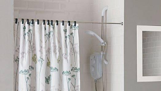 Shower Curtains & Rails