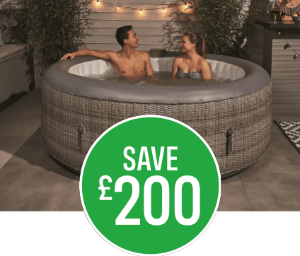 Save £200 on CleverSpa Florence Hot Tub