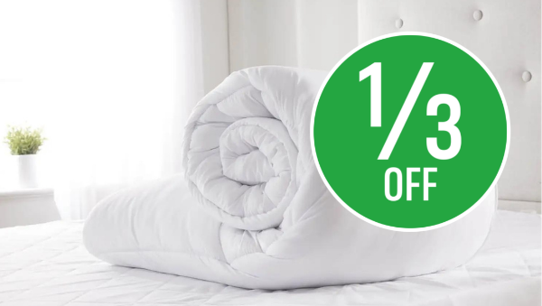 1/3 off Soft Touch Duvets 10.5 tog