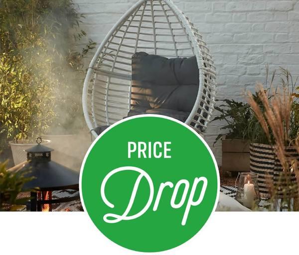 Save on Rattan Pod Egg Chair