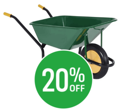 20% off Chillington County Wheelbarrow - 120L