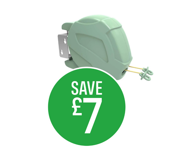 Save £5.95 on Rotaspin Retractable 2 X 15m Line