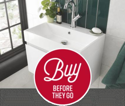 Clearance - Enjoy BIG savings on selected bathroom products