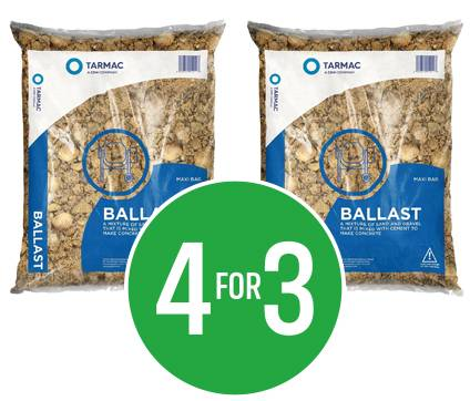 Get 4 for the price of 3 on Tarmac Ballast 20mm
